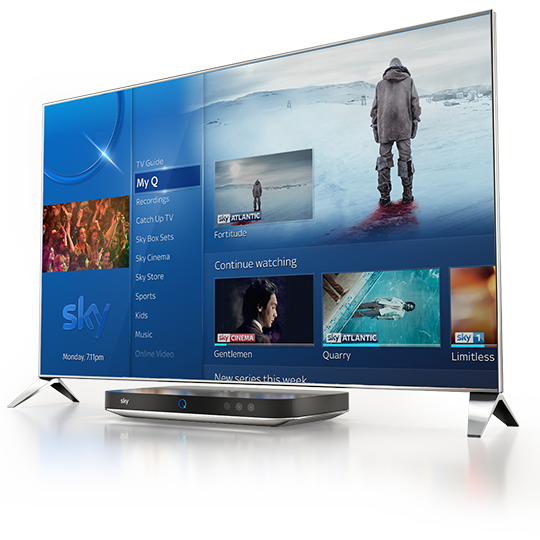 What's new with Sky Q?
