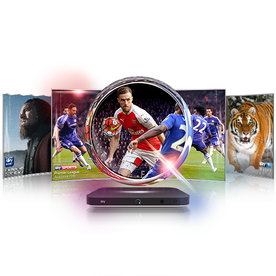Experience Ultra HD with Sky Q
