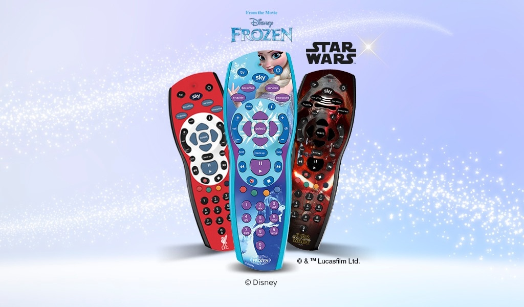 Epic gifts with up to half price on Sky Accessories
