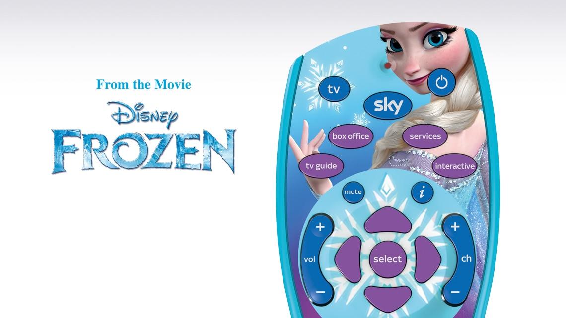 Disney Frozen Remote Control
