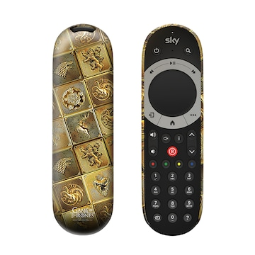 Game of Thrones Gold Sigil Sky Q Remote cover