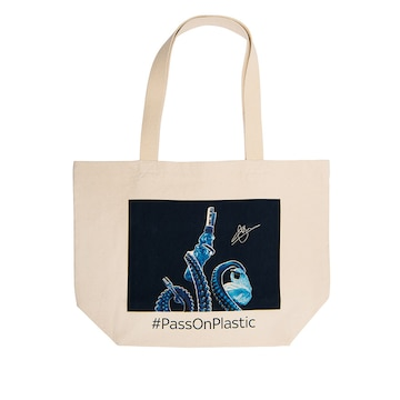 Free the Sea by Will Poulter, Tote Bag
