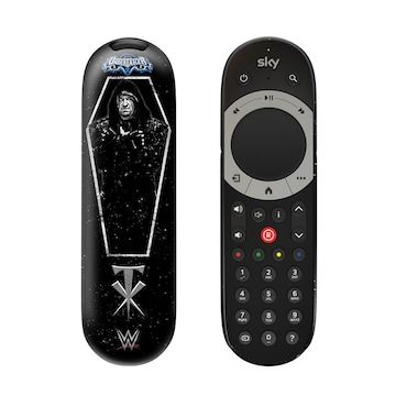 WWE Undertaker Sky Q Remote cover