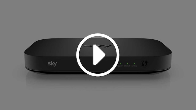 Sky Q Hub lights explained