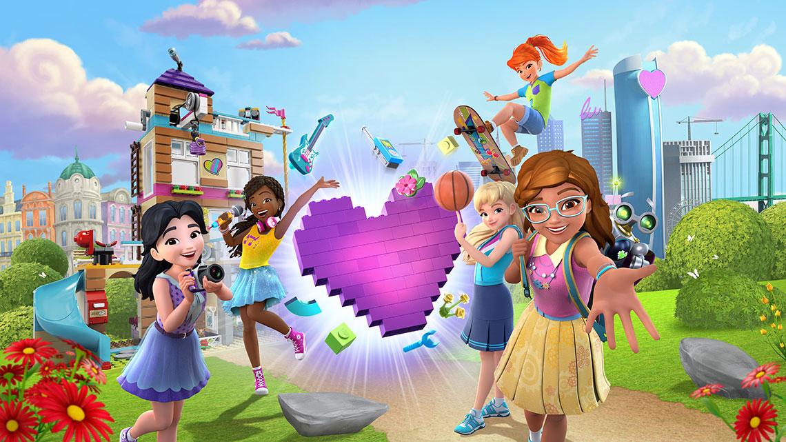 Lego Friends Girls On A Mission Skycom