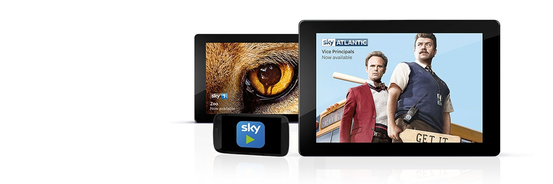 Sky Go compatible devices