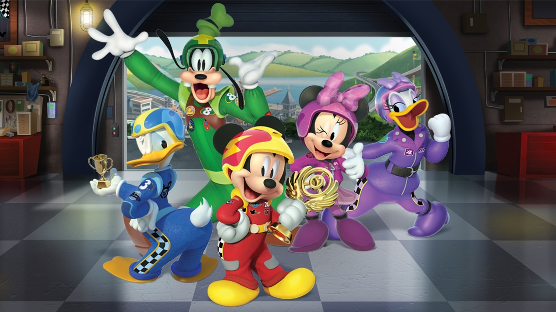 mickey and the roadster racers - 1140×641