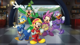 Mickey and the Roadster Racers<br>