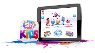 The Sky Kids app - Full of their favourite shows and games, at no extra cost