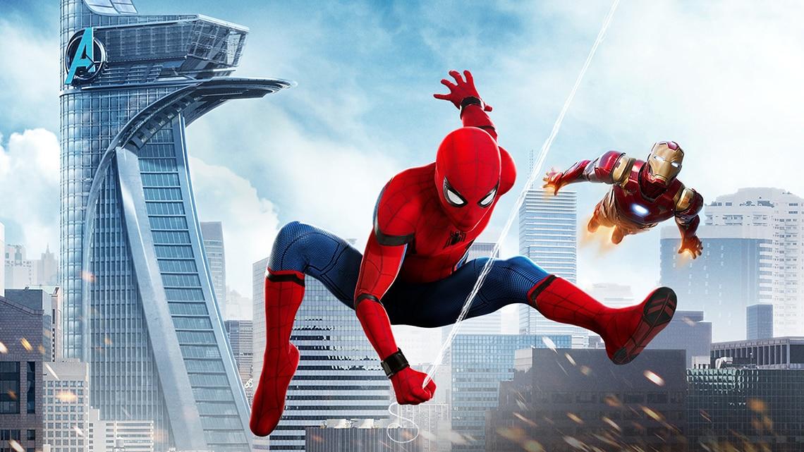 Spiderman Homecoming Sky