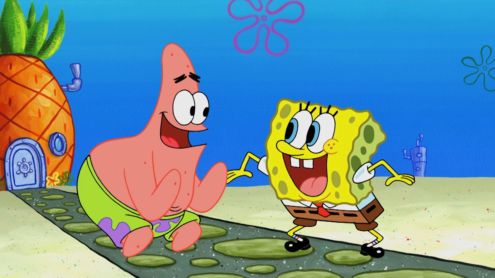 spongebob squarepants sky