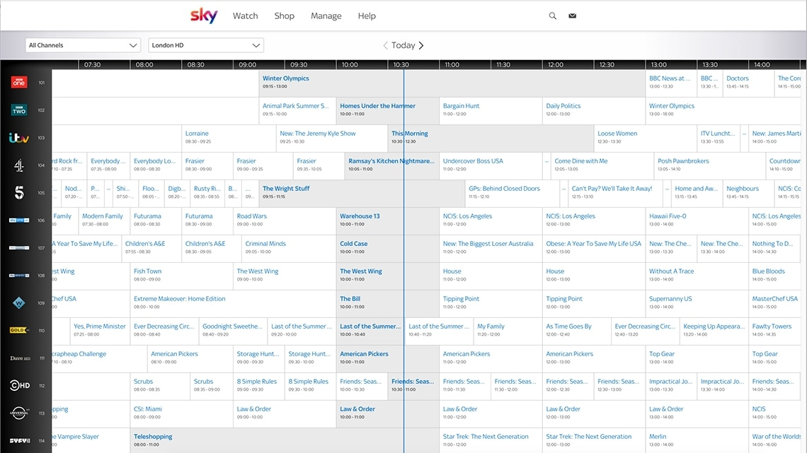 graphic relating to Printable Olympics Tv Schedule named Television set Marketing consultant