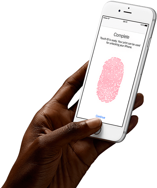 Touch ID on Apple iPhone 6s